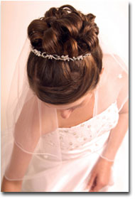 Contact Twisted Scizzors to help you prepare for your wedding, prom or other special event.